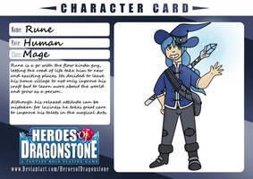 Heros Of Dragonstone Character Card: Rune by MystifyingMelody