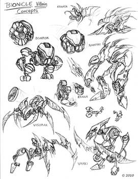 Bionicle Concepts-1