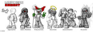 Madness Combat Line-up