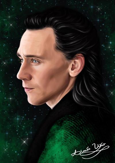 Loki  by AimeeEUart