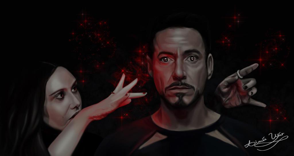 Wanda and Tony  by AimeeEUart