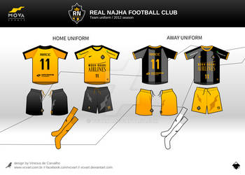 Mockup Football Team 02 by vcvart