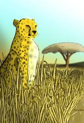 Cheetah by MaximusKPrime
