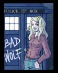 Doctor Who fanart - Rose Tyler