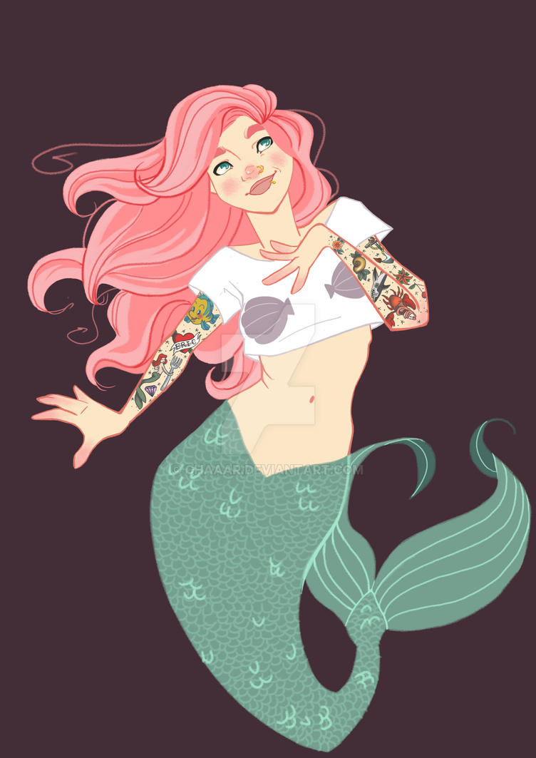 Hipster Ariel is hip by chaaar