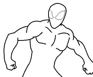Spiderman template by dreddex on DeviantArt