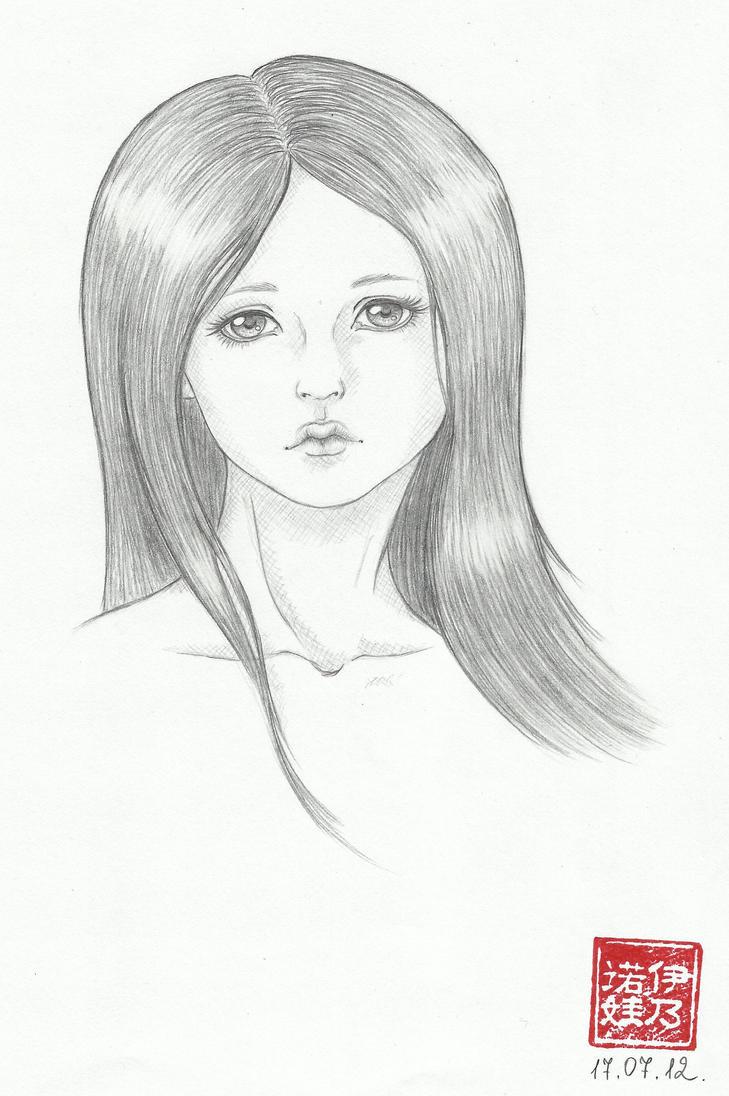 Sandra sketch by Olifaciy