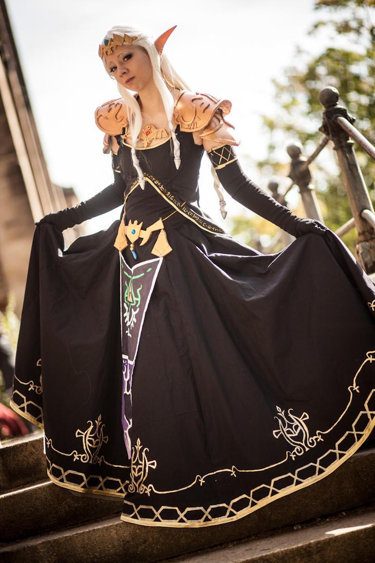 Dark zelda cosplay