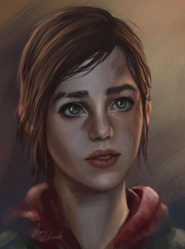 Ellie Williams The_last_of_us_ellie_by_feavre-d6a3haw