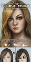 Portrait / Face painting Tutorial by feavre