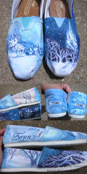 Frozen TOMS shoes
