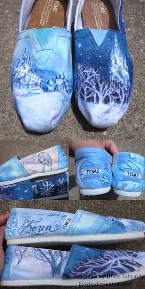 Frozen TOMS shoes