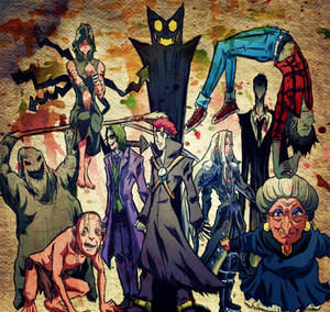 Bad Guys (Villains n Antagonists)
