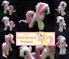 Fluttershy Plushie by PlushMetterschlingel