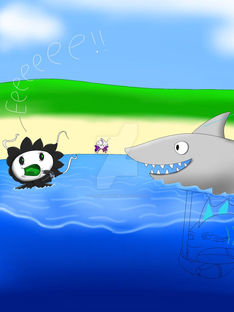 Fishy prank by Canvasbirdie