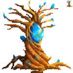 Crystal Tree Pixelart