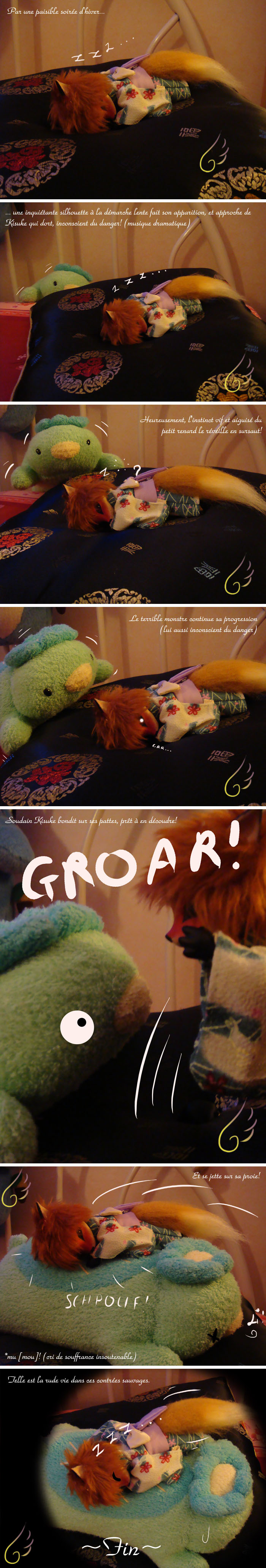 Le terrier de Kisuke: Calendrier de l'avent: Le 24 (p42) - Page 4 La_bete_au_bois_dormant_by_AllisterInWonderland