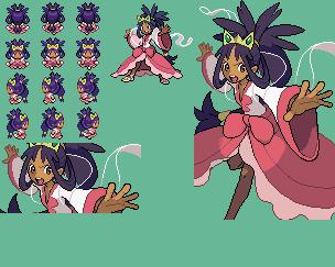 Pokemon Champion Iris Sprites by DSIKJHEZDIURH8EU09UR on ...