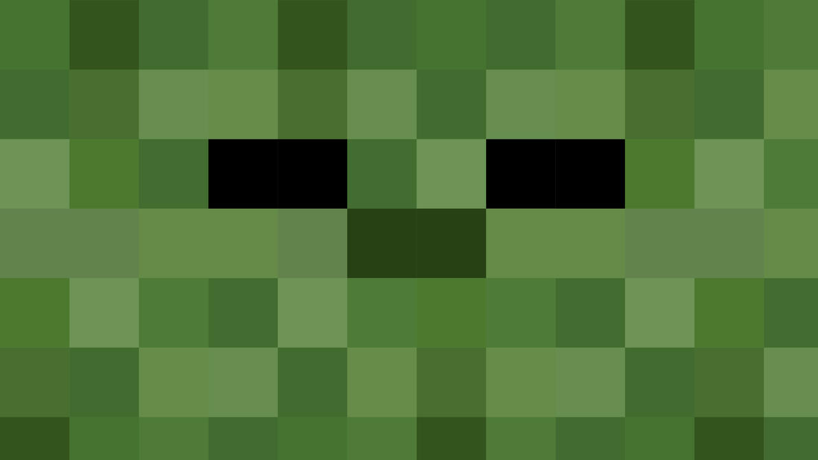 HD Minecraft Zombie Wallpaper by Karl-with-a-CMinecraft Pictures Of Zombies Face