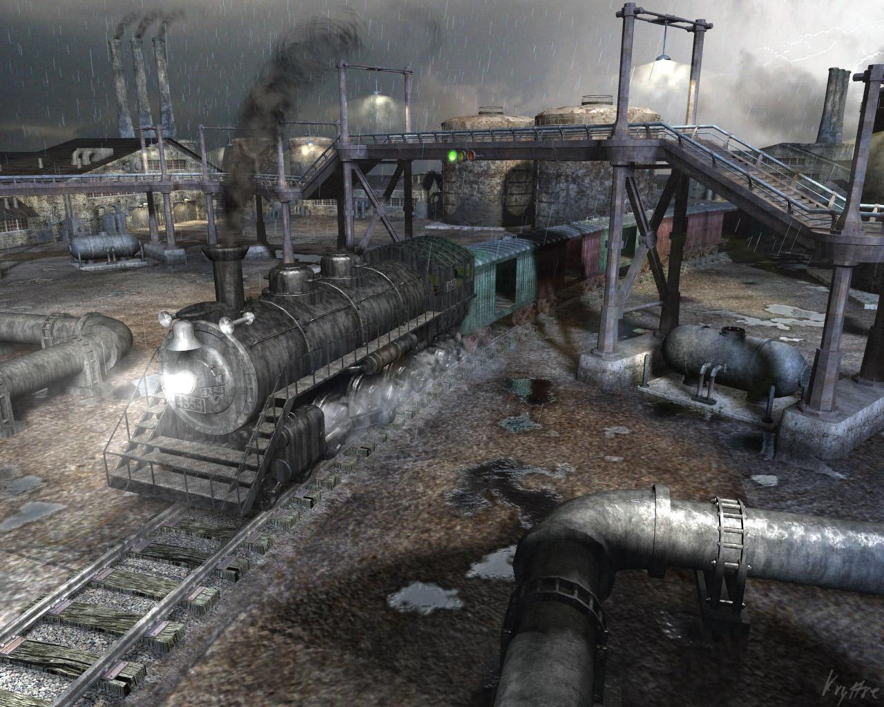 Locomotive by kryttre