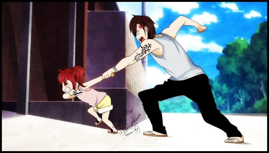 Yoki and her Daddy owo by Usagi-Chii