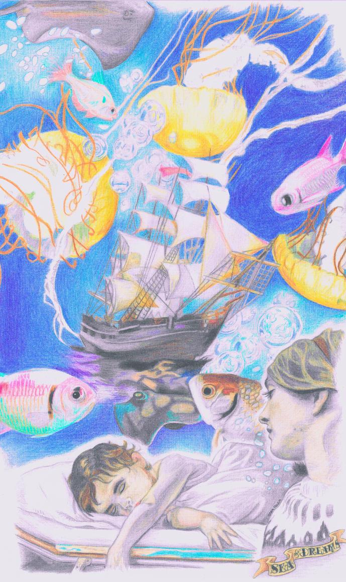 Sea of Dreams (cut) by drawu1