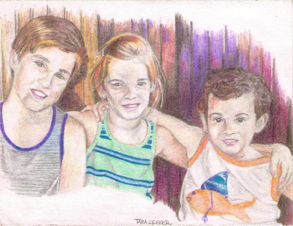 Owen, Anna, Evan (1) by drawu1