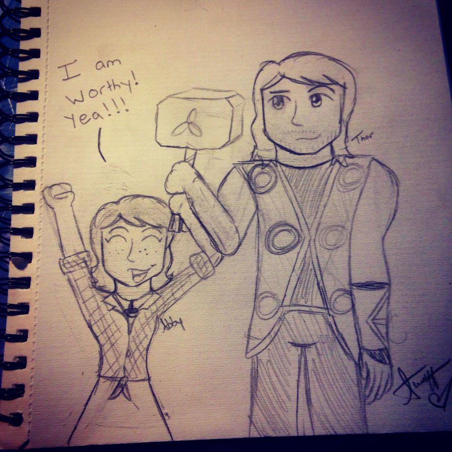 Me and Thor by JediSkygirl