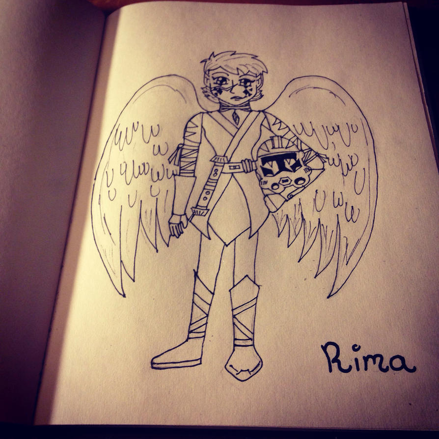 Rima Windglider WIP by JediSkygirl