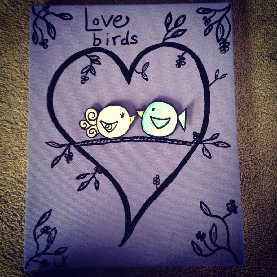 Love Birds by AbbyCatWolff