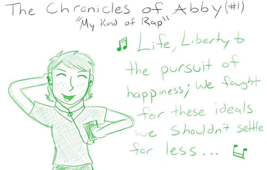 The Chronicles of Abby #1 My Kind of Rap by AbbyCatWolff