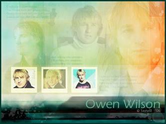 Blend: Owen Wilson by Saywill
