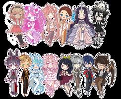 RLC: Sticker Cheebs by rozaii