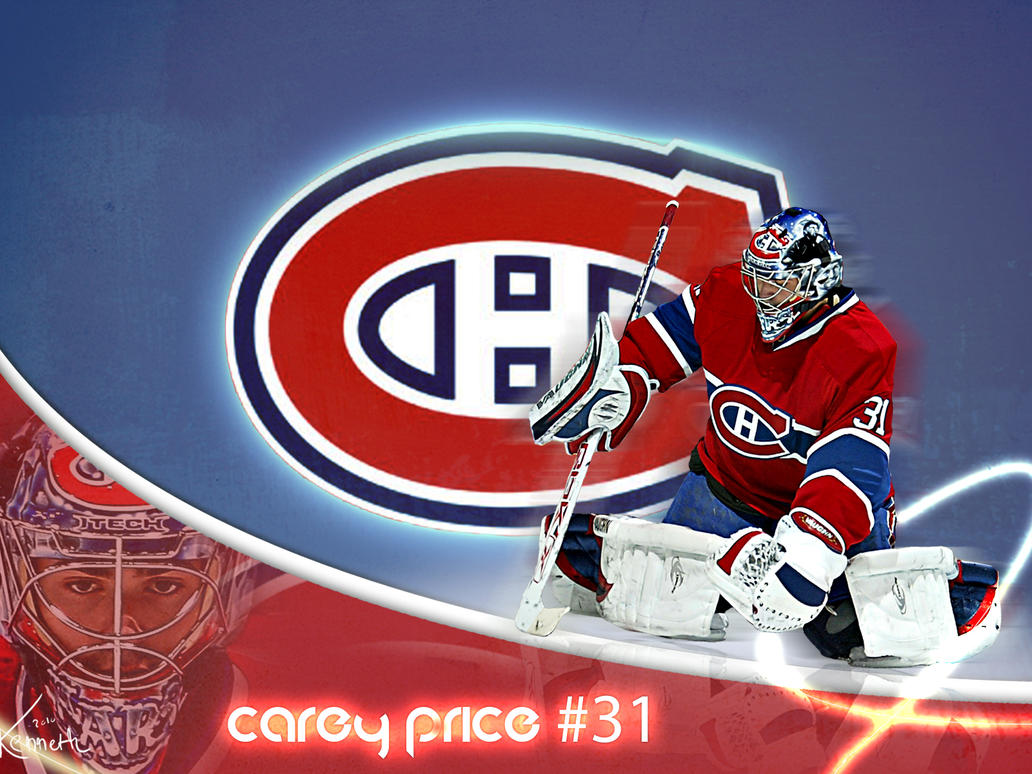 Top Wallpaper Logo Montreal Canadiens - carey_price_by_dekadentfuture-d34f8pg  You Should Have_45661.jpg