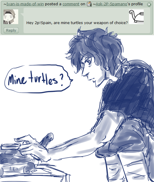 Mine turtles? :22: by Ask-2P-Spamano
