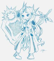 Chibi Leona by Silver-Lunne