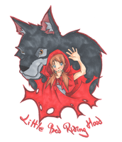 Little Red Riding Hood by Silver-Lunne