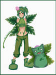 Gotta catch em all 002 Ivysaur - Gijinka