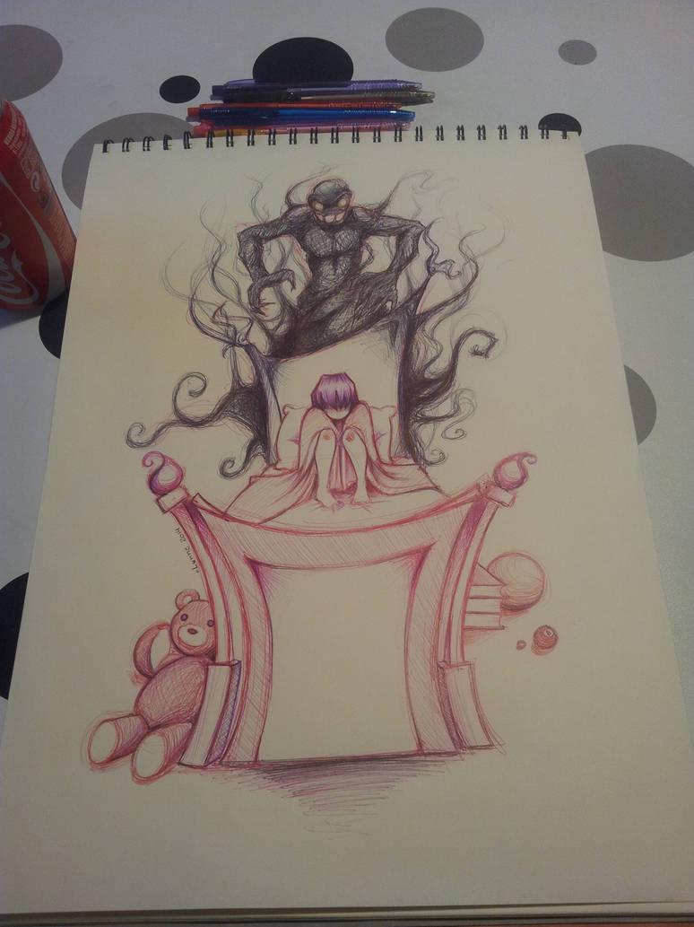 Drawing nightmares