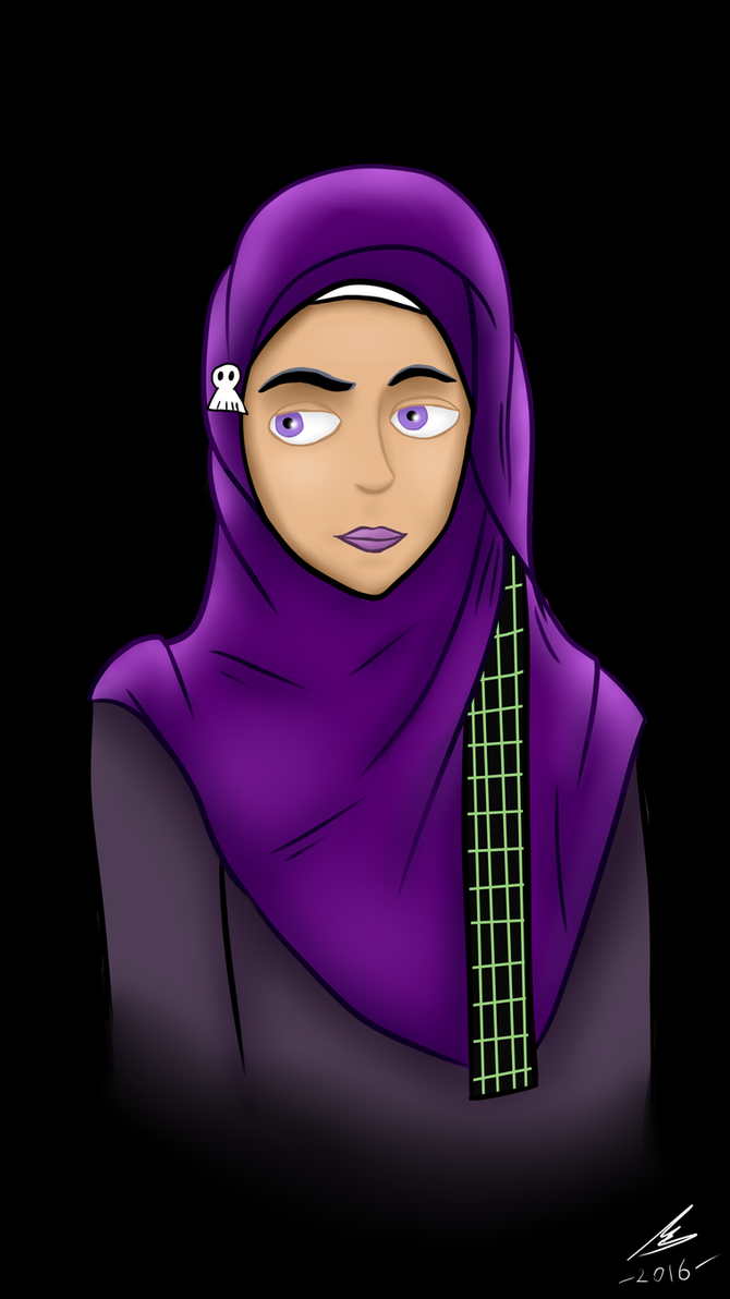 Hijabista! Sam Manson by nurmuzdalifah on DeviantArt