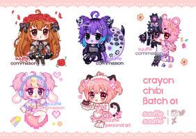 {CM} Crayon Chibi Batch 01