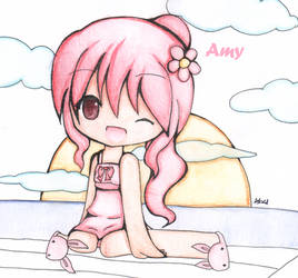Amy-Grandchase by moon43