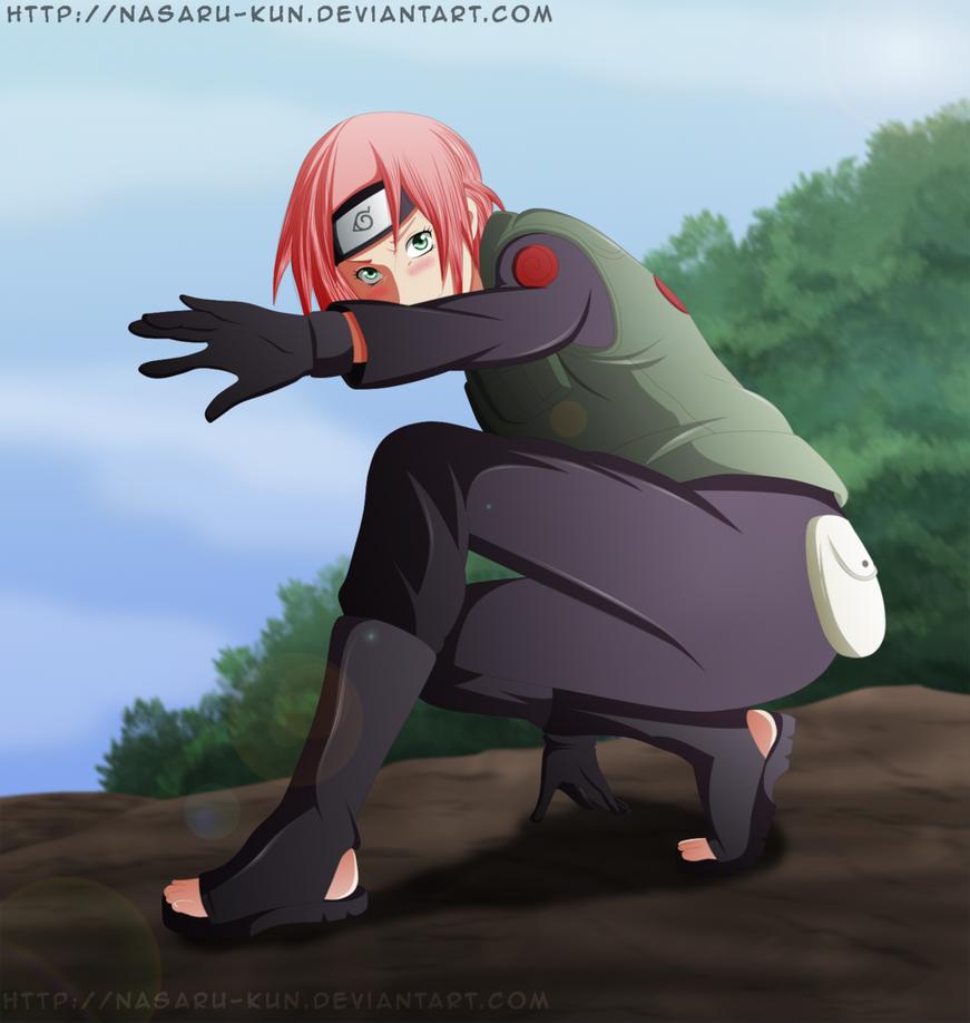 Sakura ''Jounin'' by Nasaru-Kun