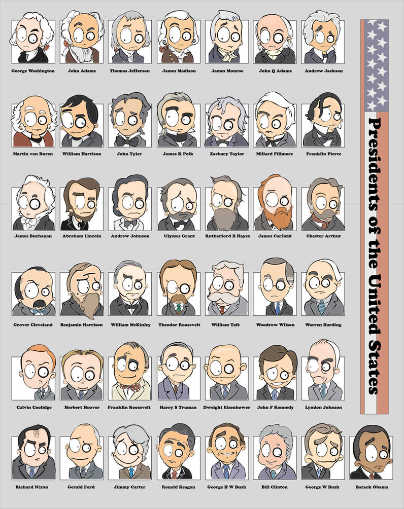 MsGothje vs Presidents USA by MsGothje