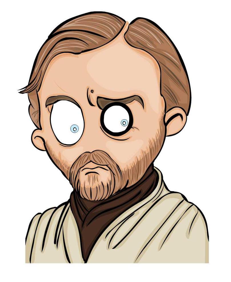 msgothje as Obi-Wan Kenobi by MsGothje