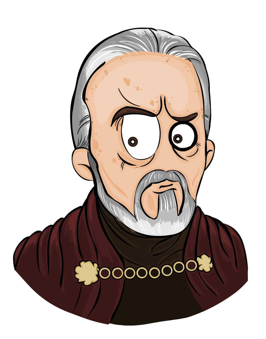 MsGothje as Count Dooku by MsGothje
