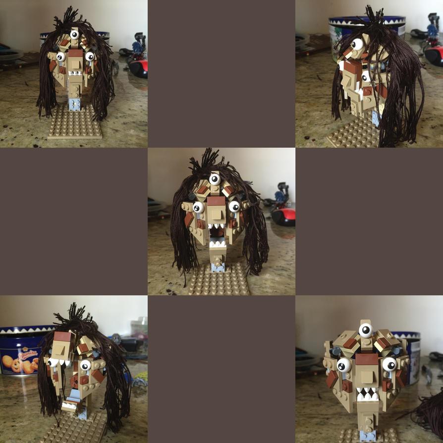 Lego Karasu's Head by Redtriangle