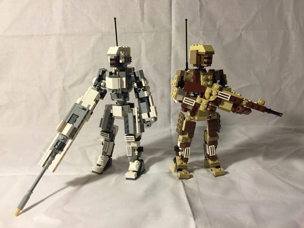 Combat Zeros - Soldierbots by Redtriangle