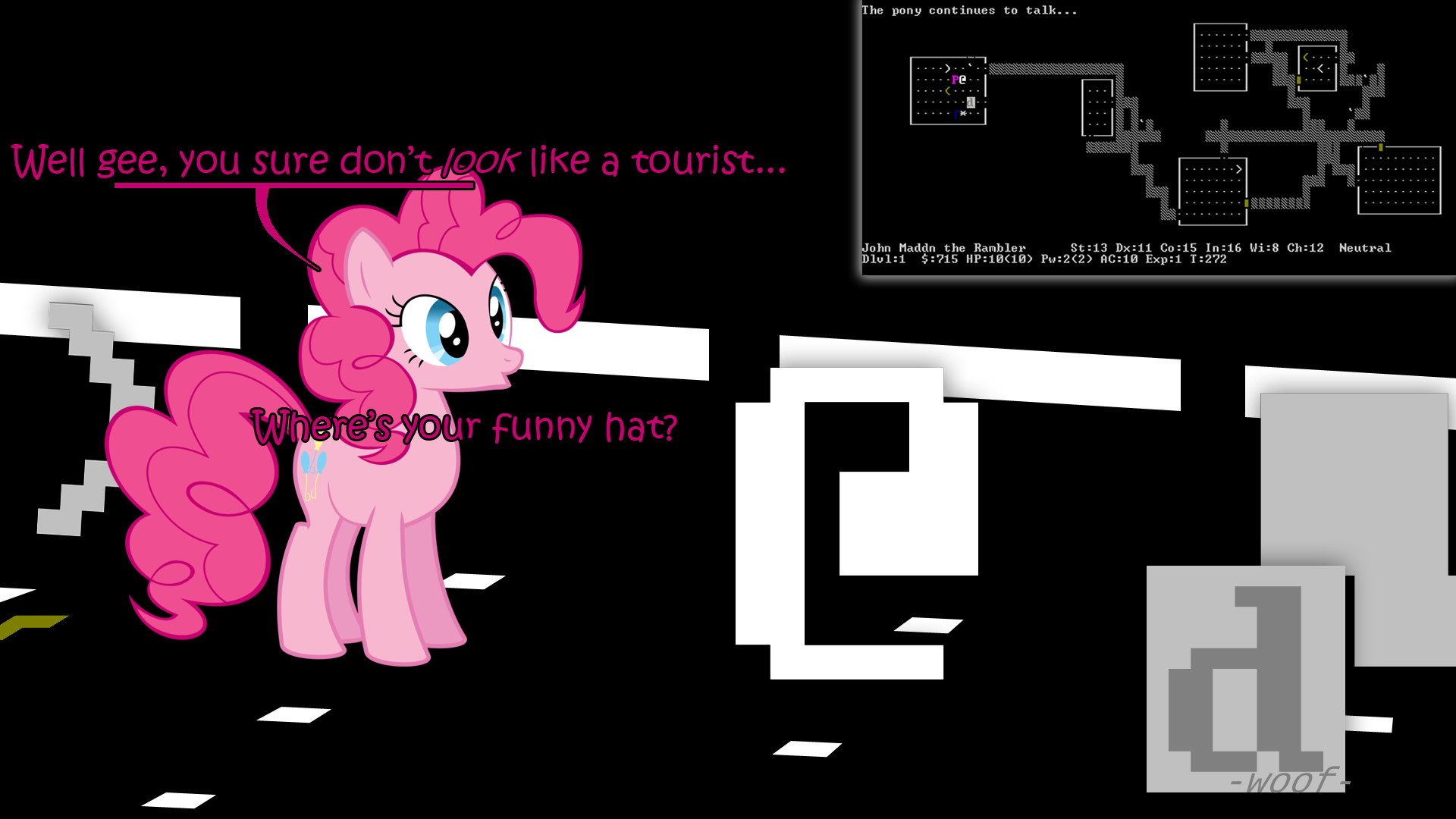 My Little Nethack by theMagicalCouch