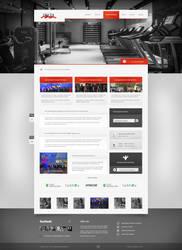 Delta Sportpark - Screendesign